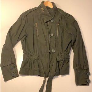 Boxfresh Green military jacket